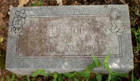 JOHNSON, CHARLIE - Ashley County, Arkansas   CHARLIE JOHNSON - Arkansas Gravestone Photos