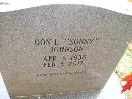 "JOHNSON, DON L ""SONNY"" - Ashley County, Arkansas   DON L ""SONNY"" JOHNSON - Arkansas Gravestone Photos"