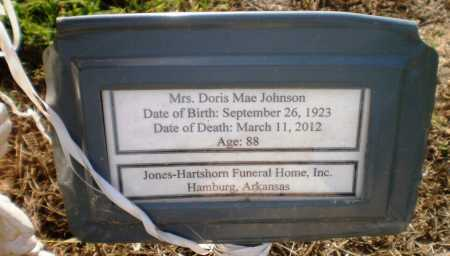 JOHNSON, DORIS MAE - Ashley County, Arkansas | DORIS MAE JOHNSON - Arkansas Gravestone Photos