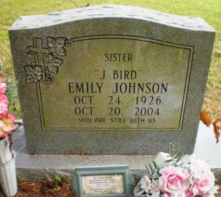JOHNSON, EMILY - Ashley County, Arkansas | EMILY JOHNSON - Arkansas Gravestone Photos