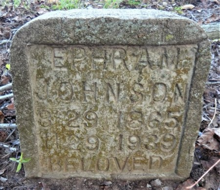JOHNSON, EPHRAM - Ashley County, Arkansas | EPHRAM JOHNSON - Arkansas Gravestone Photos