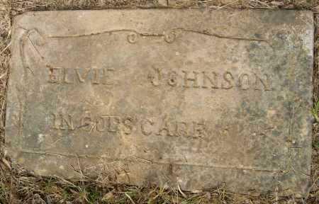 JOHNSON, ELVIE - Ashley County, Arkansas   ELVIE JOHNSON - Arkansas Gravestone Photos