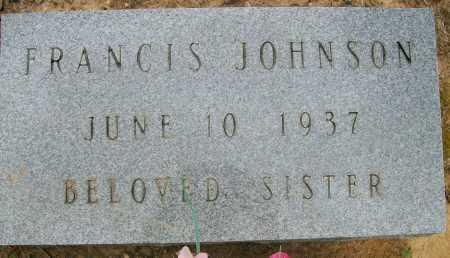 JOHNSON, FRANCIS - Ashley County, Arkansas | FRANCIS JOHNSON - Arkansas Gravestone Photos
