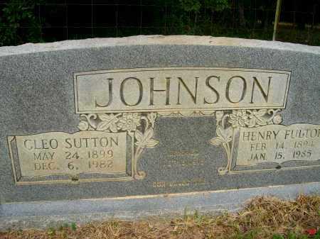 JOHNSON, CLEO - Ashley County, Arkansas   CLEO JOHNSON - Arkansas Gravestone Photos
