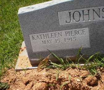 JOHNSON, KATHLEEN - Ashley County, Arkansas   KATHLEEN JOHNSON - Arkansas Gravestone Photos