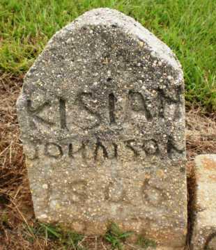 JOHNSON, KISIAH - Ashley County, Arkansas | KISIAH JOHNSON - Arkansas Gravestone Photos