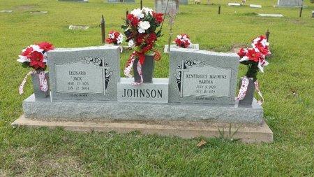 "JOHNSON, LEONARD ""JACK"" - Ashley County, Arkansas   LEONARD ""JACK"" JOHNSON - Arkansas Gravestone Photos"