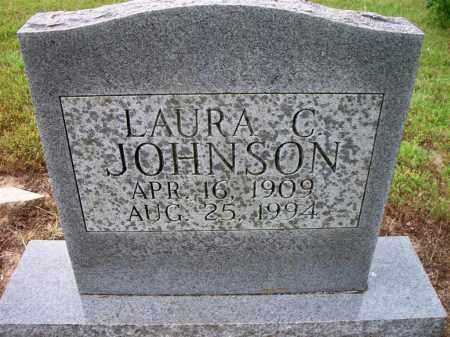 JOHNSON, LAURA C. - Ashley County, Arkansas | LAURA C. JOHNSON - Arkansas Gravestone Photos
