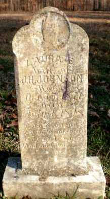JOHNSON, LAURA E - Ashley County, Arkansas | LAURA E JOHNSON - Arkansas Gravestone Photos