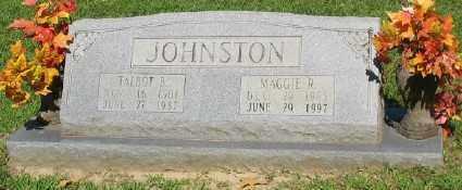 JOHNSON, TALBOT B. - Ashley County, Arkansas | TALBOT B. JOHNSON - Arkansas Gravestone Photos