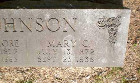 JOHNSON, MARY C - Ashley County, Arkansas   MARY C JOHNSON - Arkansas Gravestone Photos