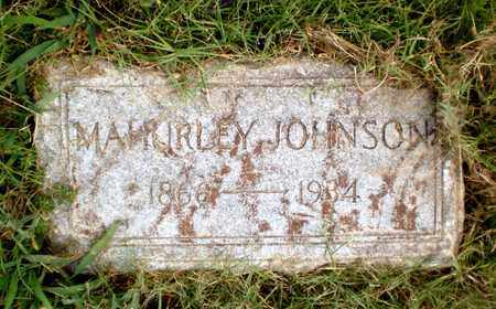 JOHNSON, MAHURLEY - Ashley County, Arkansas | MAHURLEY JOHNSON - Arkansas Gravestone Photos
