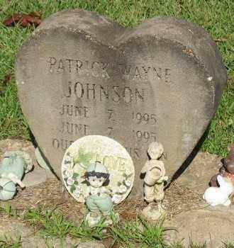 JOHNSON, PATRICK WAYNE - Ashley County, Arkansas   PATRICK WAYNE JOHNSON - Arkansas Gravestone Photos
