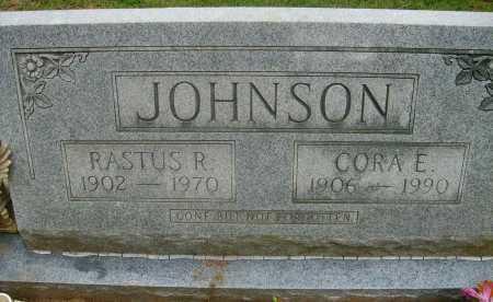 JOHNSON, CORA E - Ashley County, Arkansas | CORA E JOHNSON - Arkansas Gravestone Photos