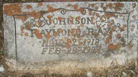 JOHNSON, RAYMOND - Ashley County, Arkansas | RAYMOND JOHNSON - Arkansas Gravestone Photos