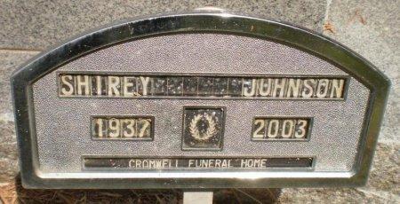 JOHNSON, SHIREY - Ashley County, Arkansas | SHIREY JOHNSON - Arkansas Gravestone Photos