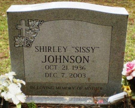 "JOHNSON, SHIRLEY ""SISSY"" - Ashley County, Arkansas   SHIRLEY ""SISSY"" JOHNSON - Arkansas Gravestone Photos"