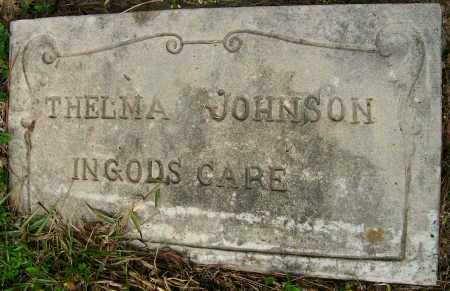JOHNSON, THELMA - Ashley County, Arkansas | THELMA JOHNSON - Arkansas Gravestone Photos