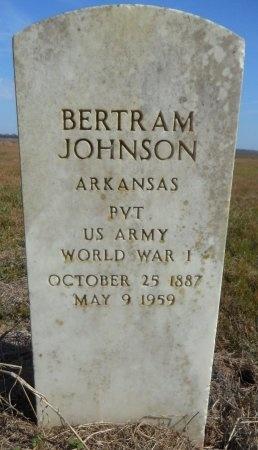 JOHNSON (VETERAN WWI), BERTRAM - Ashley County, Arkansas | BERTRAM JOHNSON (VETERAN WWI) - Arkansas Gravestone Photos