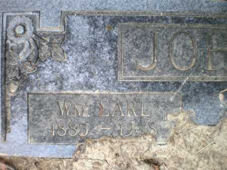 JOHNSON, WILLIAM EARL - Ashley County, Arkansas | WILLIAM EARL JOHNSON - Arkansas Gravestone Photos