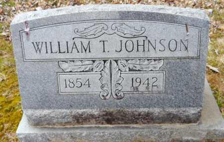 JOHNSON, WILLIAM T - Ashley County, Arkansas | WILLIAM T JOHNSON - Arkansas Gravestone Photos
