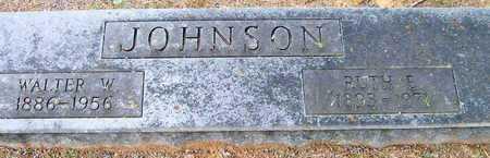 JOHNSON, WALTER W - Ashley County, Arkansas | WALTER W JOHNSON - Arkansas Gravestone Photos