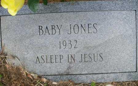 JONES, BABY - Ashley County, Arkansas | BABY JONES - Arkansas Gravestone Photos