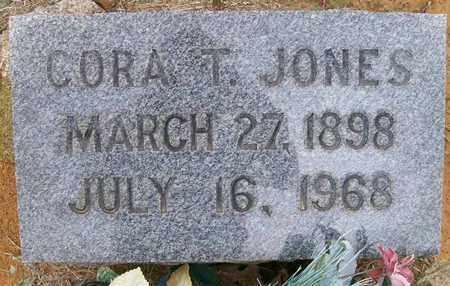 JONES, CORA T - Ashley County, Arkansas   CORA T JONES - Arkansas Gravestone Photos