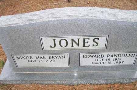 JONES, EDWARD RANDOLPH - Ashley County, Arkansas | EDWARD RANDOLPH JONES - Arkansas Gravestone Photos