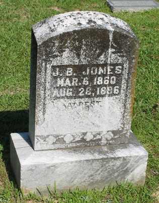 JONES, J B - Ashley County, Arkansas   J B JONES - Arkansas Gravestone Photos