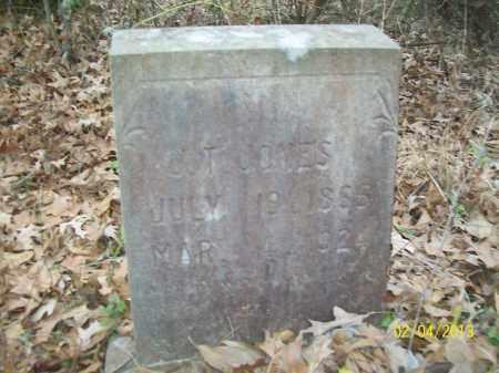 JONES, J.T. - Ashley County, Arkansas   J.T. JONES - Arkansas Gravestone Photos