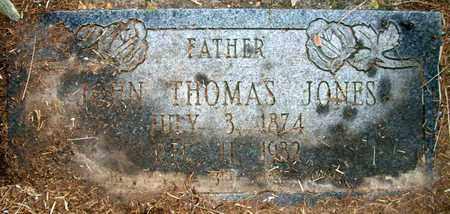 JONES, JOHN THOMAS - Ashley County, Arkansas   JOHN THOMAS JONES - Arkansas Gravestone Photos