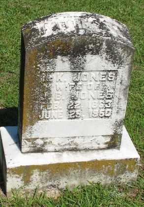 JONES, L. K. - Ashley County, Arkansas | L. K. JONES - Arkansas Gravestone Photos