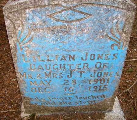 JONES, LILLAN - Ashley County, Arkansas | LILLAN JONES - Arkansas Gravestone Photos