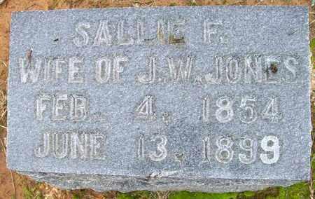 JONES, SALLIE F - Ashley County, Arkansas | SALLIE F JONES - Arkansas Gravestone Photos
