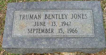 JONES, TRUMAN BENTLEY - Ashley County, Arkansas   TRUMAN BENTLEY JONES - Arkansas Gravestone Photos