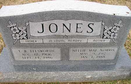 JONES, T B ELLSWORTH - Ashley County, Arkansas | T B ELLSWORTH JONES - Arkansas Gravestone Photos