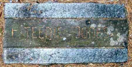 JONES, TEEDIE - Ashley County, Arkansas | TEEDIE JONES - Arkansas Gravestone Photos