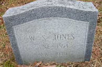JONES, W S - Ashley County, Arkansas   W S JONES - Arkansas Gravestone Photos