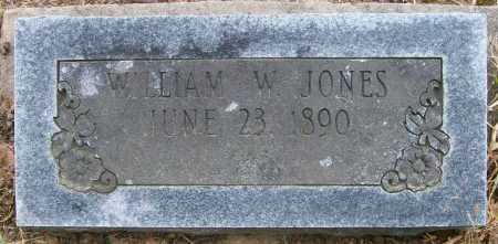 JONES, WILLIAM W - Ashley County, Arkansas   WILLIAM W JONES - Arkansas Gravestone Photos