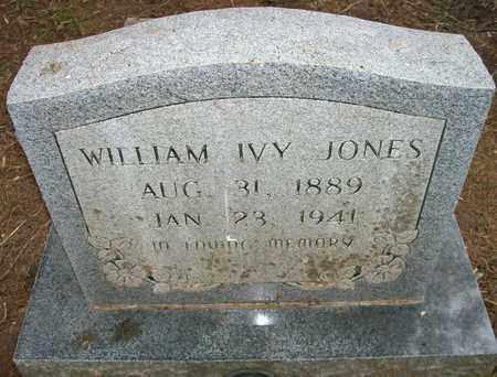 JONES, WILLIAM IVY - Ashley County, Arkansas | WILLIAM IVY JONES - Arkansas Gravestone Photos