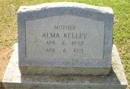 KELLEY, ALMA - Ashley County, Arkansas | ALMA KELLEY - Arkansas Gravestone Photos