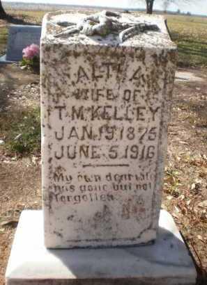 KELLEY, ALTHA - Ashley County, Arkansas | ALTHA KELLEY - Arkansas Gravestone Photos