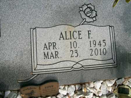 KELLEY, ALICE F (CLOSE UP) - Ashley County, Arkansas | ALICE F (CLOSE UP) KELLEY - Arkansas Gravestone Photos