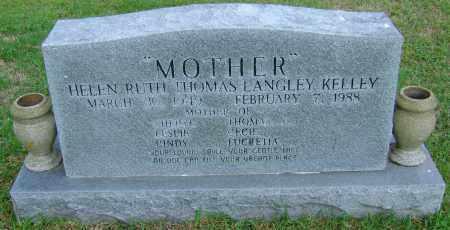 KELLEY, HELEN RUTH - Ashley County, Arkansas | HELEN RUTH KELLEY - Arkansas Gravestone Photos