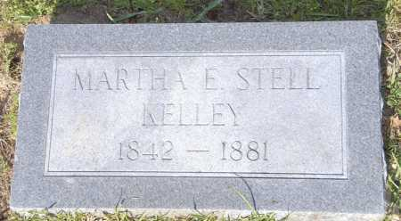 STELL KELLEY, MARTHA E - Ashley County, Arkansas | MARTHA E STELL KELLEY - Arkansas Gravestone Photos