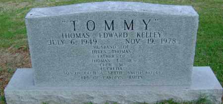 KELLEY, THOMAS EDWARD - Ashley County, Arkansas | THOMAS EDWARD KELLEY - Arkansas Gravestone Photos
