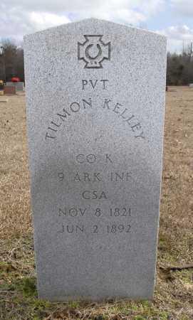KELLEY (VETERAN CSA), TILMON - Ashley County, Arkansas   TILMON KELLEY (VETERAN CSA) - Arkansas Gravestone Photos