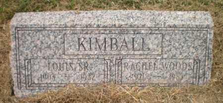 KIMBALL, SR, LOUIS - Ashley County, Arkansas | LOUIS KIMBALL, SR - Arkansas Gravestone Photos