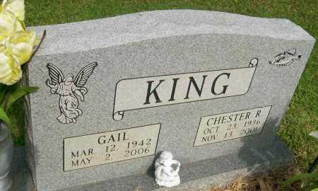RICE KING, GAIL - Ashley County, Arkansas   GAIL RICE KING - Arkansas Gravestone Photos